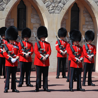 Changing Of The Guards Woods Of London
